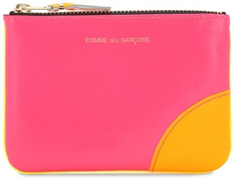 Comme des Garcons Super Neon Leather Wallet