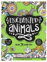 Horizon Adult Coloring Book - Enchanted Animals