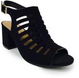 Bamboo Black Highlight Sandal