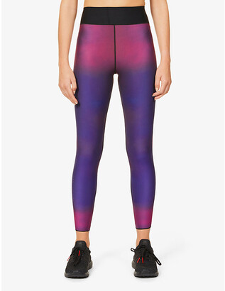 ULTRACOR Undulate printed high-rise stretch-jersey leggings