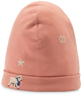 Gucci Kids Embroidered Baby Hat