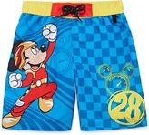 Disney Boys Mickey Mouse Trunks-Big Kid