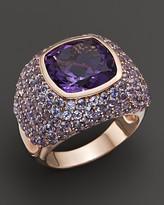 Bloomingdale's Amethyst and Tanzanite Pavé Ring in 14K Rose Gold