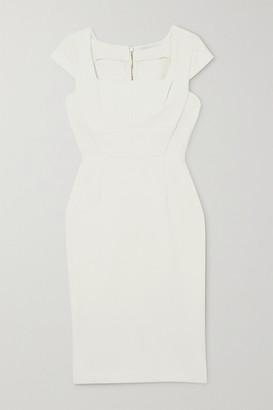 Roland Mouret Jeddler Stretch-crepe Dress - White