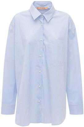The Andamane Georgiana Poplin Maxi Shirt