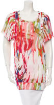 IRO Printed Silk Tunic