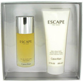 Calvin Klein Escape Gift Set for Men (3.4 oz Eau De Toilette Spray + 6.7 oz After Shave Balm)