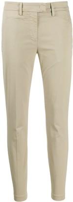 Dondup plain slim-fit trousers