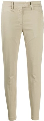 Dondup Plain Slim-Fit Trousers