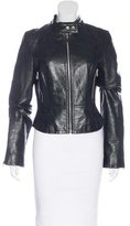Joie Fitted Leather Jacket