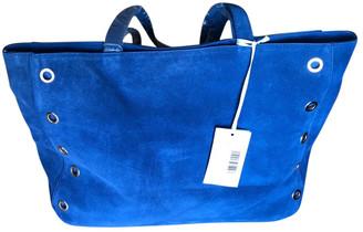 Paul & Joe Sister Blue Suede Handbags