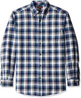 Wolverine Men's Big Hammond Long Sleeve Two Sided Brushed Flannel Shirt