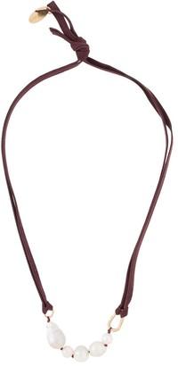 Forte Forte Pearl Pendant Necklace