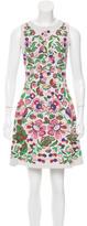 Valentino 2016 Floral Intarsia Dress