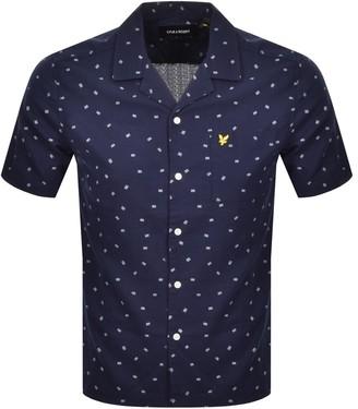 Lyle & Scott Resort Short Sleeve Shirt Navy
