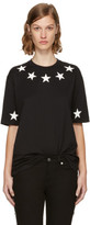 Givenchy Black Star Necklace T-shirt