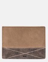 Quiksilver Mens New Classic Plus Leather Wallet