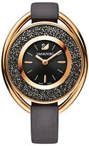 Swarovski 18K Rose Gold Plated Chronograph Crystalline Oval Watch
