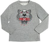 Kenzo Tiger Cotton Jersey T-Shirt