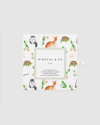 Mindful & Co - White Educational & Science Toys - Yoga Memory Card Game - Size One Size, One size at The Iconic