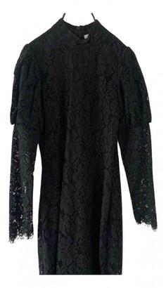 Ganni Fall Winter 2019 Black Lace Dresses