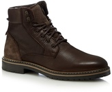 Red Herring Dark Brown Leather Lace Up Boots