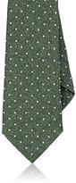Isaia MEN'S POLKA DOT WOOL NECKTIE