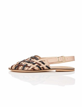 Find. Amazon Brand Women's Woven Leather