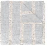 Eleventy sequin stripe scarf - women - Polyamide/Polyester/Modal/Viscose - One Size