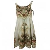 Asos Ecru Cotton - elasthane Dress for Women