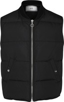 Ami Black Quilted Shell Gilet