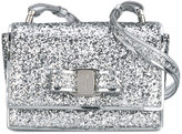 Salvatore Ferragamo Kids glitter shoulder bag