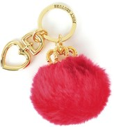 Juicy Couture Puff Crown Key Fob