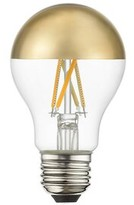 Livex Lighting 60 Watt Equivalent, A19 LED, Dimmable Light Bulb, Cool White (3000K) E26/Medium (Standard) Base