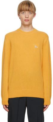 MAISON KITSUNÉ Yellow Fox Sweater