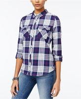 Roxy Juniors' Squary Plaid Shirt