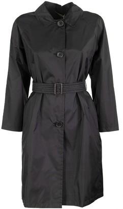 Max Mara Water-resistant taffeta trench coat