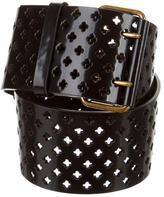 Saint Laurent Patent Leather Waist Belt