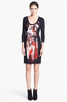 Tracy Reese Contrast Panel Sheath Dress