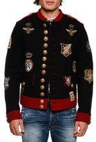 Dolce & Gabbana Military Crest Short Jacket