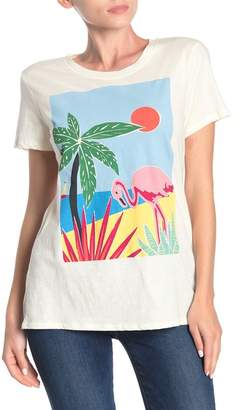 Lucky Brand Tropical Graphic Tee