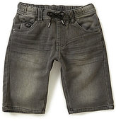 Buffalo David Bitton Big Boys 8-20 Evan-X Knit Denim Shorts