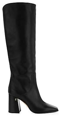 Jimmy Choo Women's Brionne Leather Tall Boots