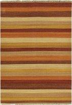 Ecarpetgallery eCarpet Gallery 62473 Hand-Woven Fiesta Open Field 5' x 7' 100% Wool Area Rug