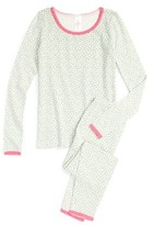 Ruby & Bloom Girl's Fitted Two-Piece Pajamas
