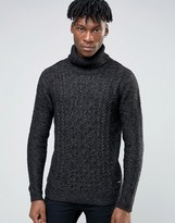 ONLY & SONS Roll Neck Knitted Sweater