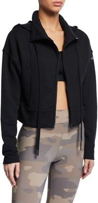 Alo Yoga Trail Hooded Cropped Jacket