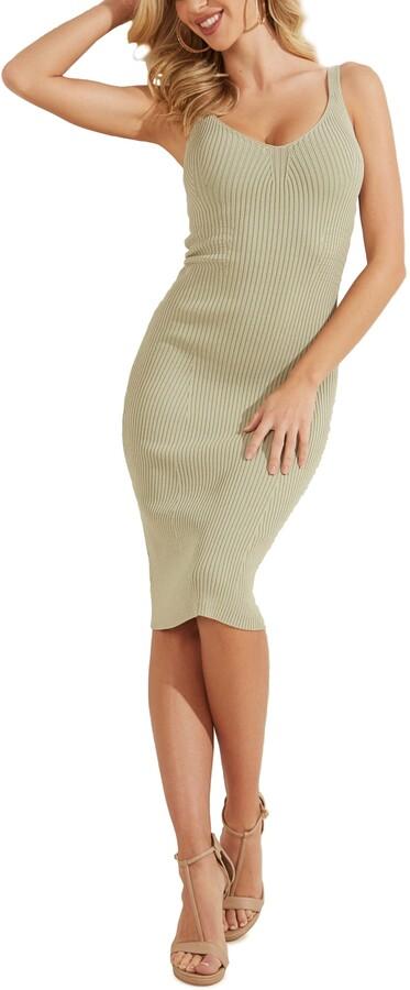GUESS Rib Body-Con Dress