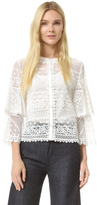 Temperley London Desdemona Lace Blouse