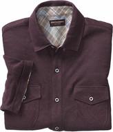 Johnston & Murphy Linen Knit Button-Front Shirt